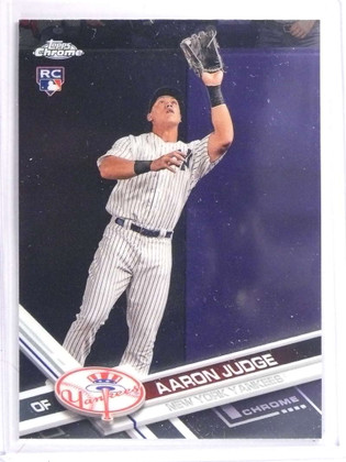 2017 Topps Chrome Aaron Judge Rookie RC #169 *71441