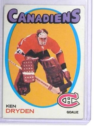 1971-72 Topps Ken Dryden rc rookie #45 VG *71998