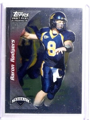 2005 Topps Draft DPP Chrome Aaron Rodgers rc rookie #152   *72274