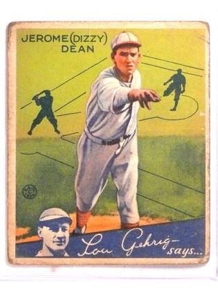 1933 Goudey Dizzy Dean #6 GD *72446