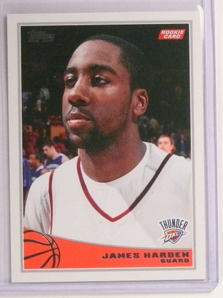2009-10 Topps James Harden rc rookie #319  *72604