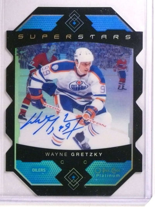 2015-16 Upper Deck OPC Platinum Superstars  Wayne Gretzky autograph *72441