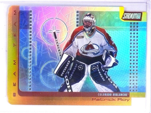 2000-01 Topps Stadium Club Beam Team Patrick Roy #D398/500 #BT12 *64280