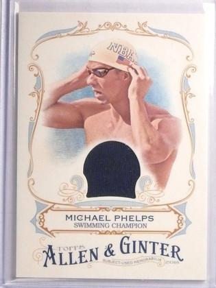 2016 Topps Allen & Ginter Relics Michael Phelps Relic #FSRAMP *67034