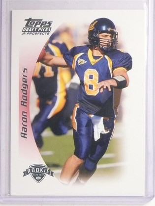 2005 Topps Draft Picks & Prospects Aaron Rodgers Rookie RC #152 *67140