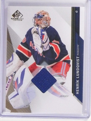 2014-15 UD SP Game Used Edition Henrik Lundqvist Jersey #46 *51535