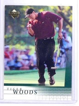 2001 Upper Deck Tiger Woods Rookie RC #1 *63207