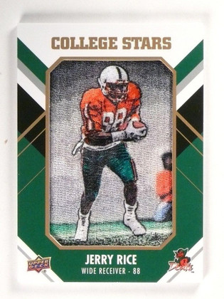 2015 Upper Deck College Tribute Stars Jerry Rice #CM-239 SP! *53068