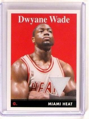 2008-09 Topps Dwyane Wade 1958-59 Variations Jersey Relic *45862
