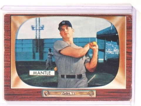 1955 Bowman Mickey Mantle #202 VG *67354