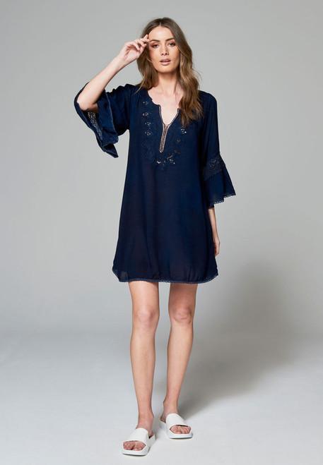 Cartel & Willow Axel Kaftan Dress