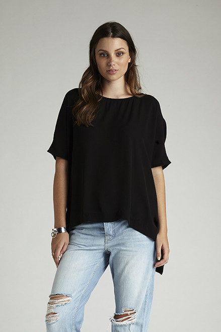 IDS Ashley Top Black