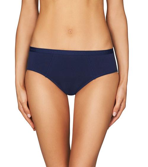 Bendon Body Cotton Hikini Brief Medieval Blue