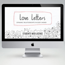 Love Letters Bible Study Teaching Materials (Student Edition)