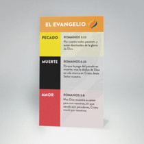 Time to Revive Gospel Presentation Wristband and Verse Reference Card (Spanish Edition)