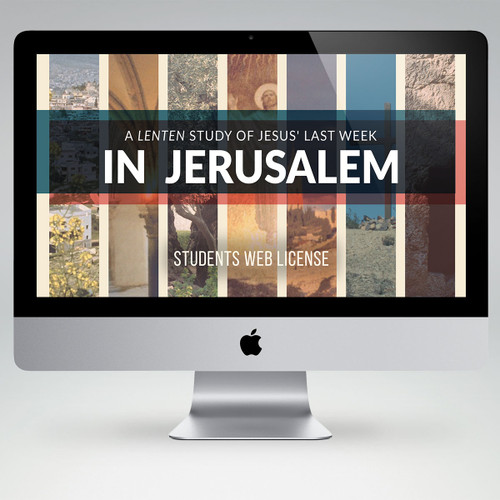 In Jerusalem Bible Study Teaching Materials (Student Edition)