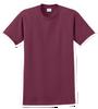 G2000B Maroon Youth T-Shirt Short Sleeve by Gildan