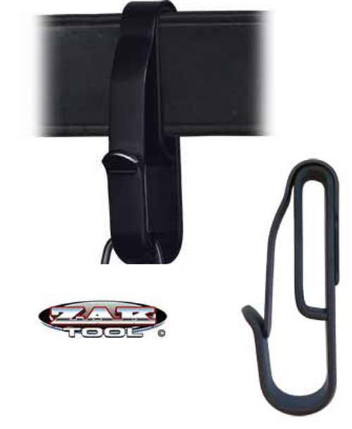 ZAK-54: LOW PROFILE KEY RING CLIP-BLACK by Zak.