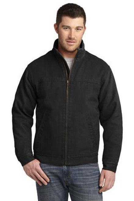 CSJ40: Washed Duck Cloth Flannel-Lined Work Jacket by CornerStone