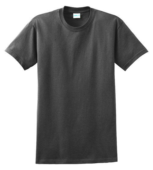 G2000T Black T-Shirt Short Sleeve Tall by Gildan