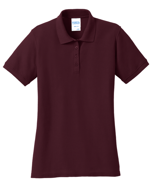 LKP155: Ladies Core Blend Pique Polo by Port & Company