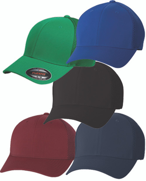 6533: Ultrafiber Cap with Air Mesh Sides by Flexfit