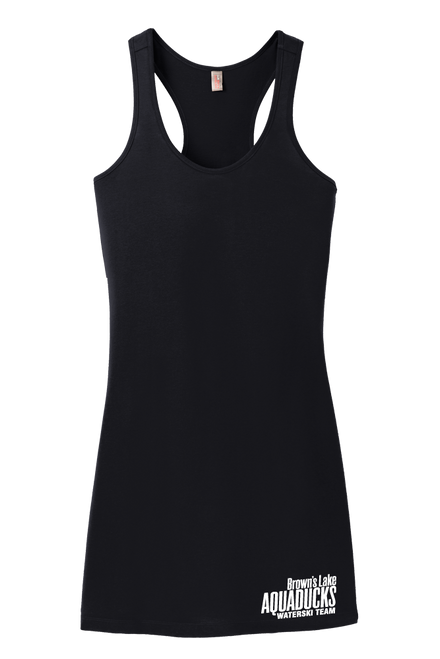 AQ-DM423: Ladies 60/40 Racerback Embroidered Dress by District