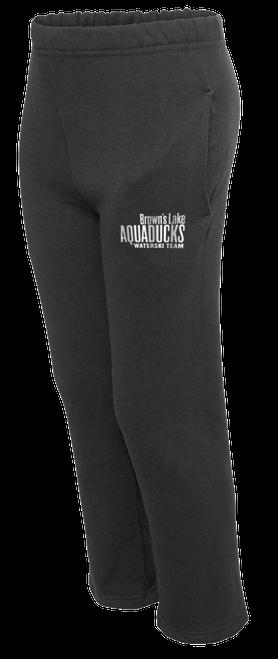 AQ-974YPR:  NuBlend Open Bottom Pocketed Sweatpants by Jerzees