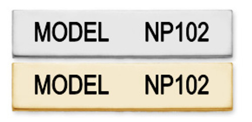 NP102 in Silver-Tone and Gold-Tone finishes