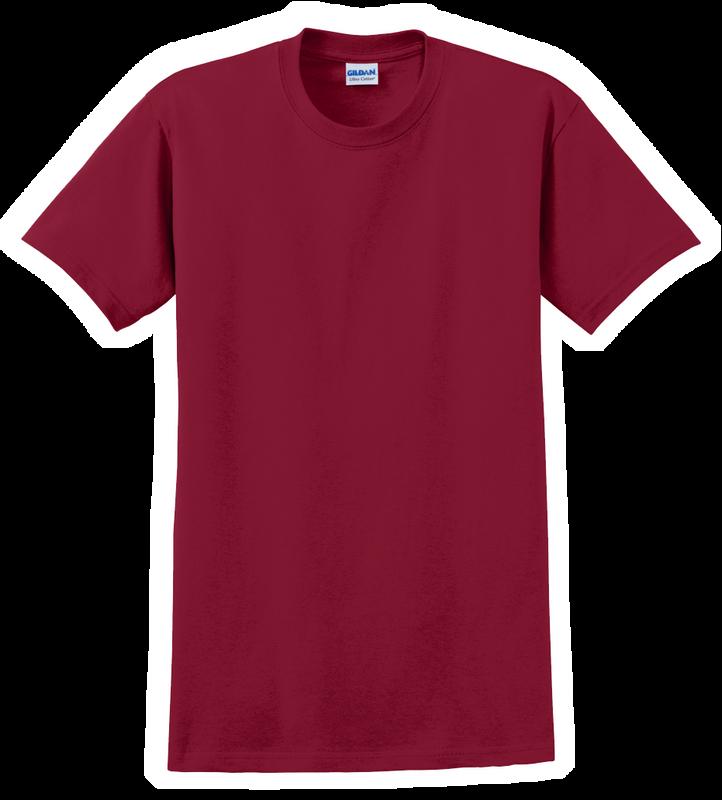 G2000B Cardinal Red Youth T-Shirt Short Sleeve by Gildan