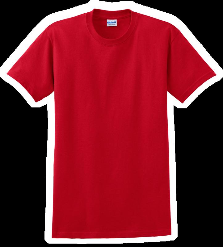 G2000B Red Youth T-Shirt Short Sleeve by Gildan