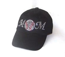 Rhinestone Baseball Mom Cap