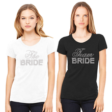 Big Bling Bridal Party Crew Neck T-Shirt