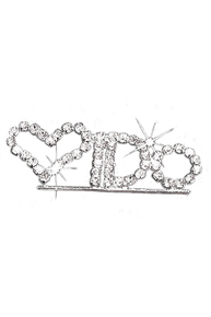 Rhinestone I Do Pin for the Bride