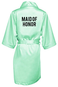 Printed Bridal Party Robes
