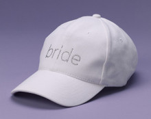 Rhinestone Bride Cap in Choice of Great Colors