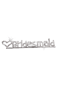 Rhinestone Bridesmaid Pin
