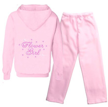 Flower Girl Rhinestone Hoodie and Pants