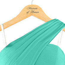 Engraved Matron of Honor Hanger