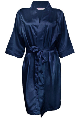 Blank Satin Robe Available in 35 Colors
