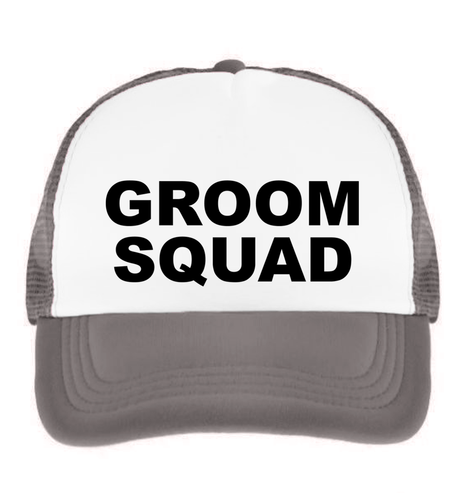 Groom Squad Trucker Hat
