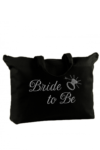 Rhinestone Wedding Tote Bag for the Bridal Party