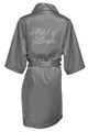 Glam Script Bridal Party Satin Robes