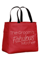 The Groom's Fabulous Mother Rhinestone Tote Bag