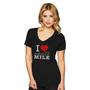 Miracle Mile Custom Print V-Neck Tee