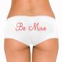 Be Mine Rhinestone Boyshort - Many Font Styles Available!