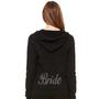 Bling Bride Crystal Hoodie