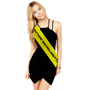 CAUTION Tape Bachelorette Party Sashes