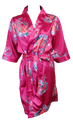 Elegant Floral Print Satin Robes Available in 5 Colors