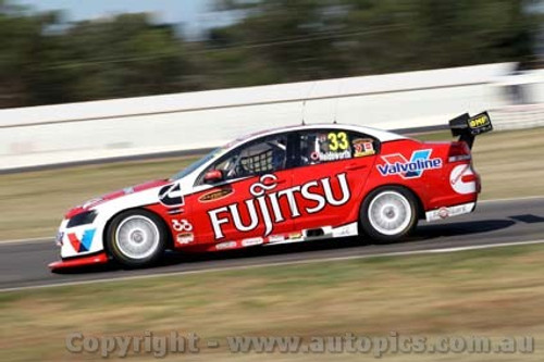 10005 - Lee Holdsworth  Holden Commodore VE - Winton Test Day 2010 - Photographer Craig Clifford